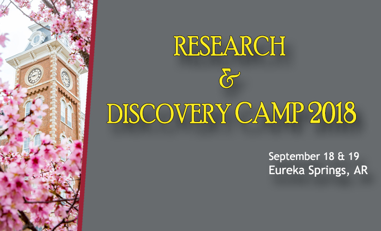 Research and Discovery Camp 2018